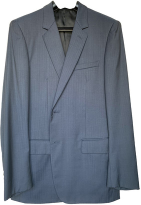 Christian Dior Blue Wool Suits