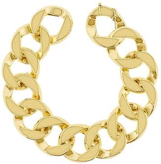 Verdura 18kt Yellow Gold Curb-Link Bracelet