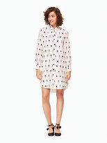 Kate Spade Nail polish shirtdress
