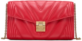 MCM Millie Quilted Leather Crossbody Bag