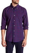 Jack Spade Afton Windowpane Long Sleeve Plaid Shirt