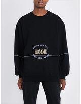 Balenciaga Homme City Cotton-jersey Sweatshirt