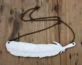 MeMeMe me me me Feather Necklace