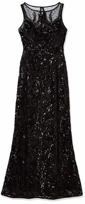 Adrianna Papell Women's Sequin Chiffon Dress