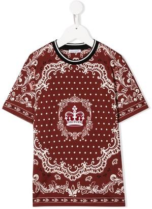 Dolce & Gabbana Bandana print T-shirt