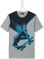 DSQUARED2 skater print T-shirt