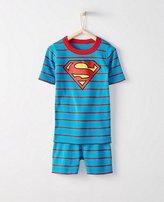 Kids DC ComicsTM Superman Short John Pajamas In Organic Cotton