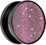 "Body Candy 5/8"" Black Pink Sugar Glitter Screw Fit Plug (1 Piece)"
