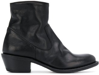 Fiorentini+Baker Mid-Heel Ankle Boots