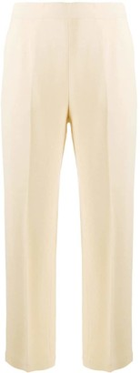 Erika Cavallini Cropped Straight-Leg Trousers