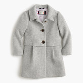 J.Crew Girls' stadium cloth A-line coat