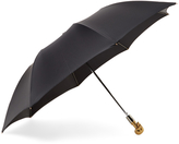 Alexander McQueen Gold-Tone Skull Umbrella