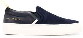 Common Projects slip-on leather sneakers