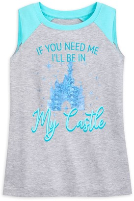 Disney Cinderella Castle Tank Top for Girls Walt World