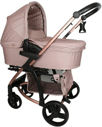 My Babiie Dreamiie MB200 Mocha Monogram Travel System
