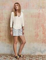Boden Shimmer V-neck Sweater