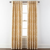 Royal Velvet Supreme Damask Pinch Pleat/Back-Tab Curtain Panel