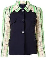 Maison Margiela contrast front buttoned jacket