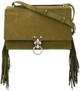 Andrea Incontri fringed crossbody bag - women - Leather/Nylon - One Size