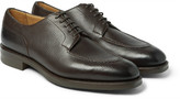 Edward Green Dover Cross-Grain Leather Derby Shoes