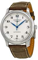 Longines Watches Master Collection Automaic Transparent Case Back Men's Watch