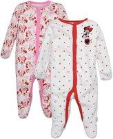 Disney Minnie Mouse Footie Pajamas 2 Pack