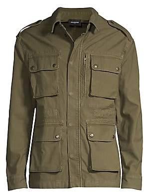 The Kooples Men's Cargo Cotton Jacket