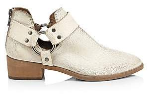 Frye Women's Ray Harness Distressed Leather Booties