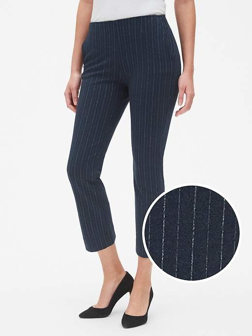 Gap High Rise Stripe Crop Kick Pants