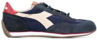 Diadora panelled sneakers