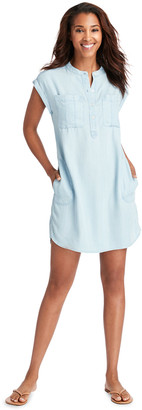 Vineyard Vines Chambray Dolman Sleeve Margo Shirt Dress