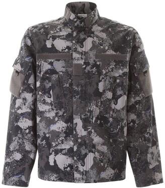Marcelo Burlon County of Milan Camou Military Jacket