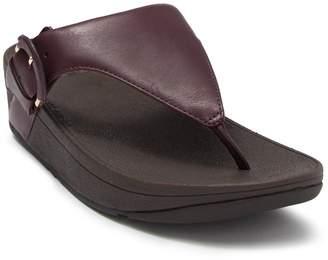 FitFlop Lottie Buckle Thong Toe Sandal