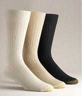 Gold Toe Canterbury Dress Socks 3-Pack