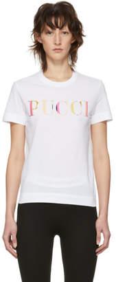Emilio Pucci White Logo T-Shirt