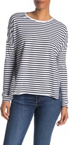 Frank And Eileen Striped Long Dolman Sleeve T-Shirt