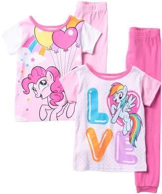 My Little Pony Emoji Cotton PJs - Set of 2 (Little Girls & Big Girls)