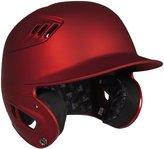 Rawlings Sports Accessories 80 MPH Performance Junior Matte Batting Helmet, Scarlet - 6 1/2 - 7 1/8