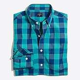 J.Crew Factory Gingham washed shirt