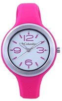 Columbia Women's CT005615 The Escapade Classic Analog with Raspberry Silicone Strap Watch