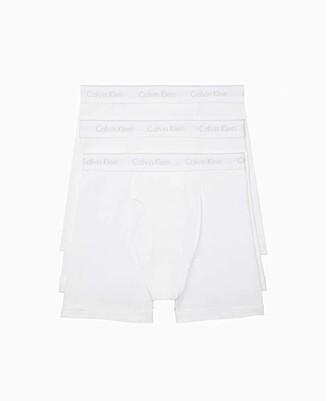 Calvin Klein Underwear Cotton Classics Multipack Boxer Brief (White) Men's Underwear
