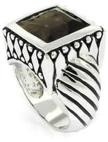 Alljoy Art'n Sparkle - Designer-Inspired Ring w/Smoky CZ Size 6