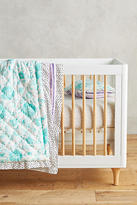 Anthropologie Watercolor Toddler Quilt & Playmat