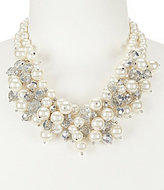 Gemma Layne Pearl Cluster Frontal Necklace