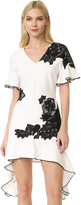 Jonathan Simkhai Lace Flutter Tee Dress