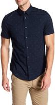 Ben Sherman Triangle Print Short Sleeve Regular Fit Shirt