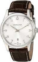 Hamilton Men's H38511553 Jazzmaster Thinline Dial Watch