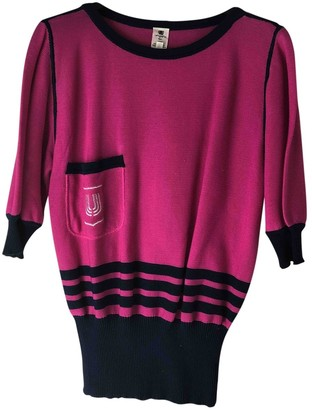 Ungaro Pink Cotton Knitwear for Women