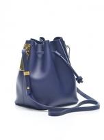 Sophie Hulme French Navy Nelson Bucket Bag