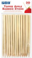 P.M.E. Toffee Apple Bamboo Sticks 13 cm (5.1 inch), Pack of 30